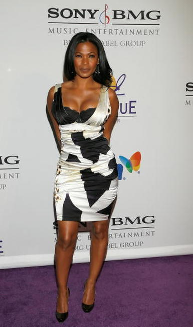 Nia Long at the Legendary Clive Davis Pre-Grammy Party.