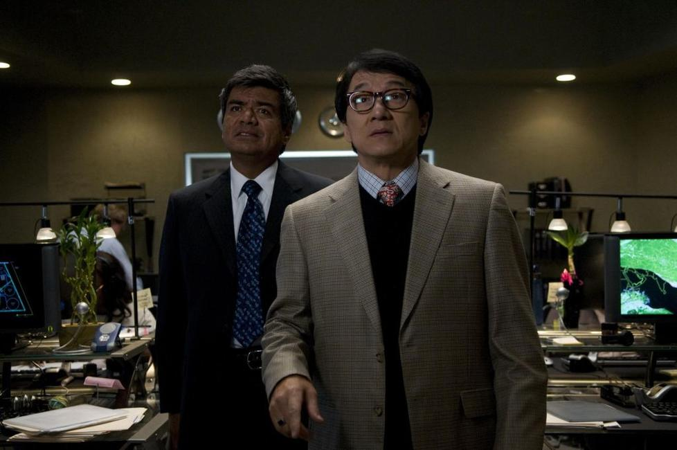 George Lopez as Glaze and Jackie Chan as Bob Ho in