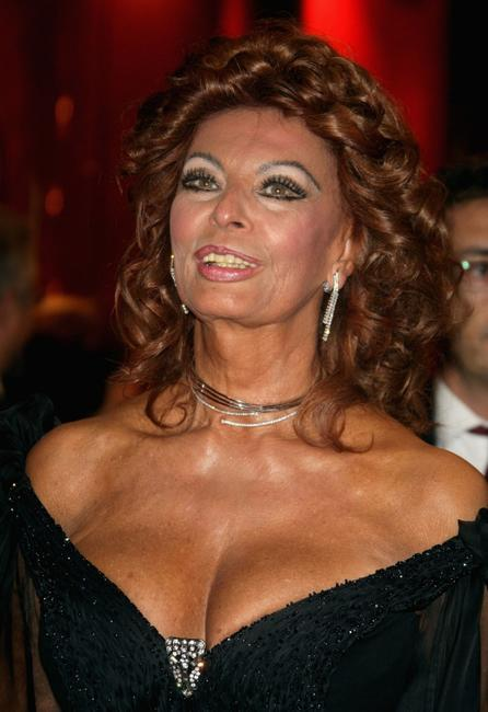 Sophia Loren at the 2nd Rome Film Festival for a Opening Ceremony Concert.