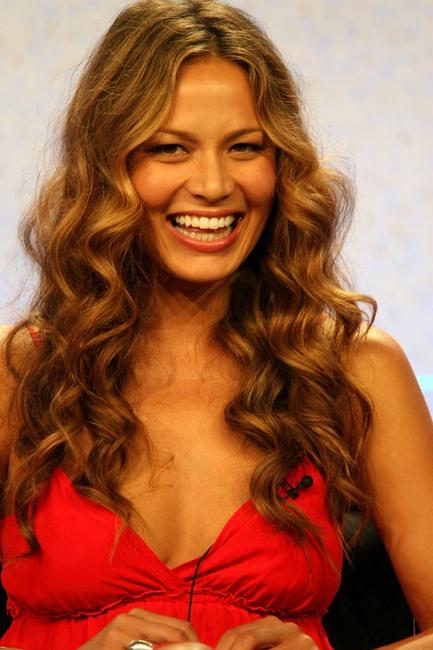 Moon Bloodgood at the 2007 Summer Television Critics Association Press Tour for NBC.