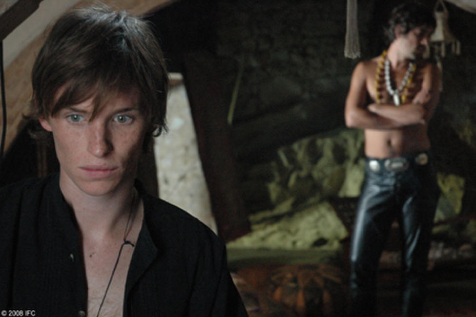 Eddie Redmayne and Unax Ugalde in