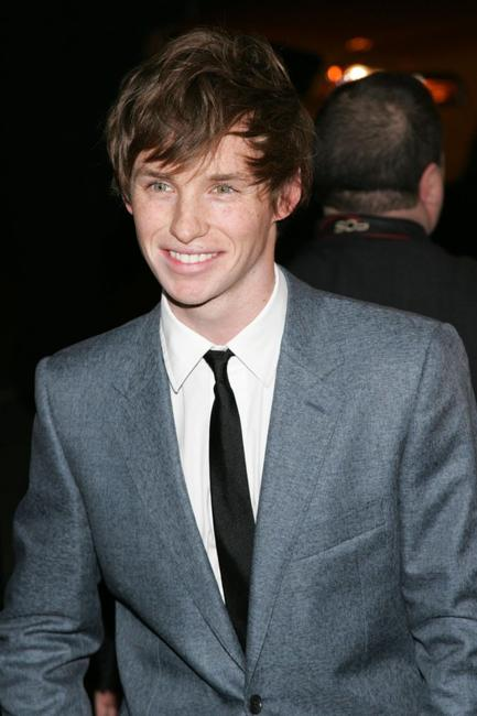 Eddie Redmayne at the world premiere of