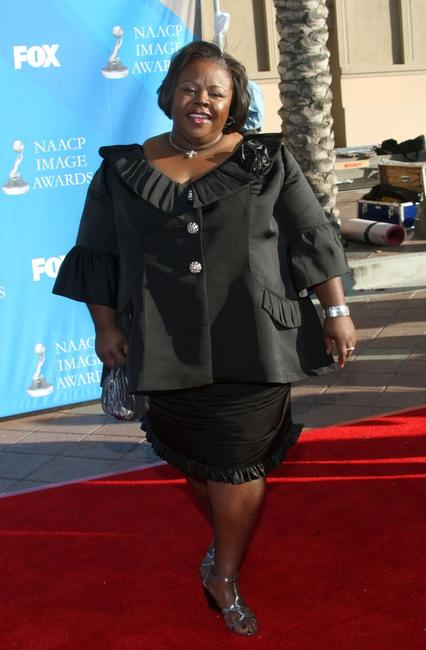 Cassi Davis at the 39th NAACP Image Awards.