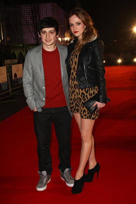 Craig Roberts and Guest at the UK premiere of