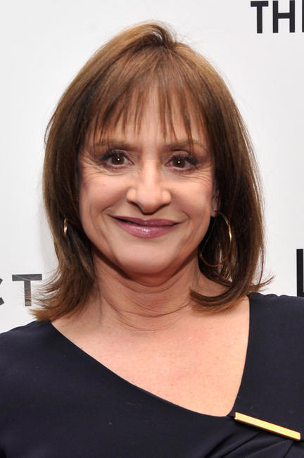 Patti LuPone at the New York premiere of