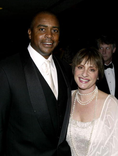 Patti LuPone and Amad Rashad at the Saint Vincent's Midtown Hospital spring gala.