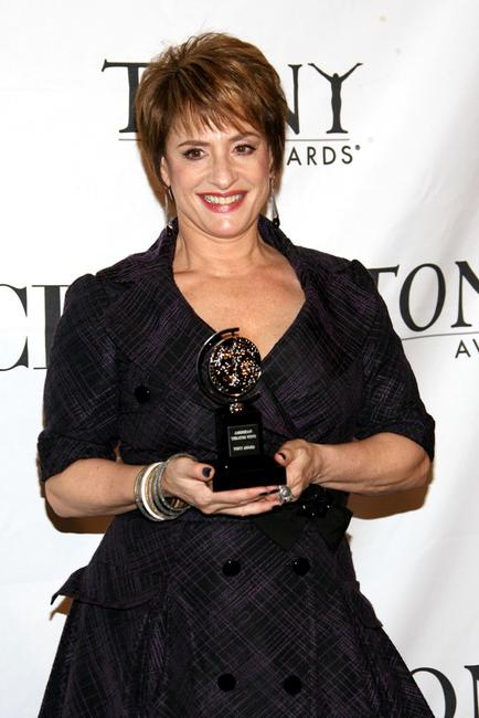 Patti LuPone at the 62nd Annual Tony Awards.