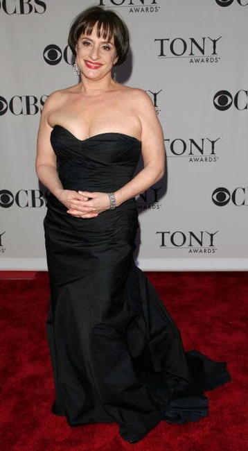 Patty Lupone at the 60th Annual Tony Awards.