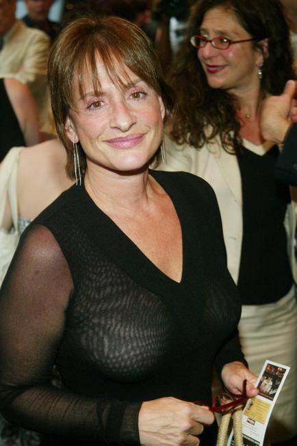 Patti Lupone at the opening night of