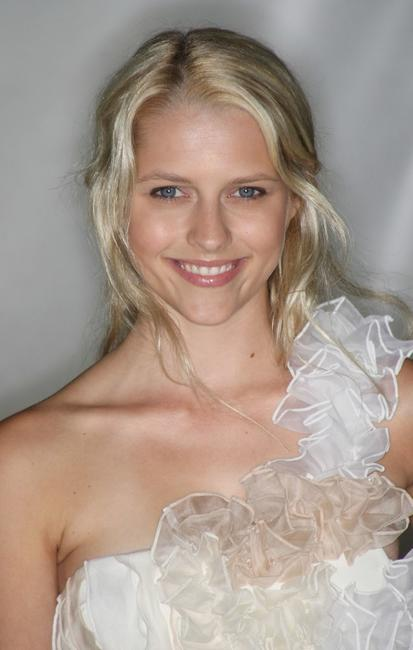 Teresa Palmer at the Vanity Fair Portraits: Photographs 1913-2008 Exhibit grand opening party.