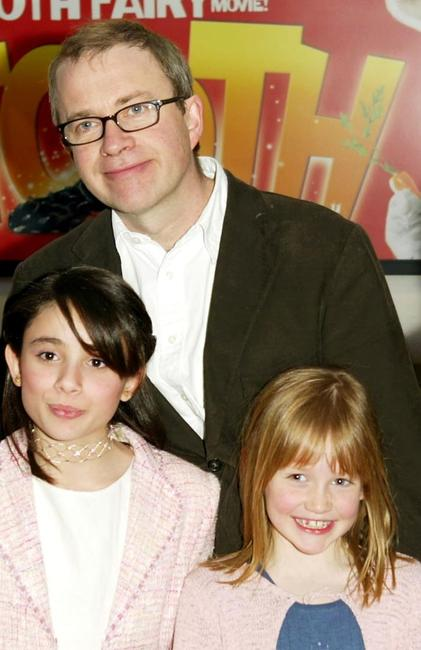 Yasmin Paige, Harry Enfield and Maisie Preston at the UK premiere of