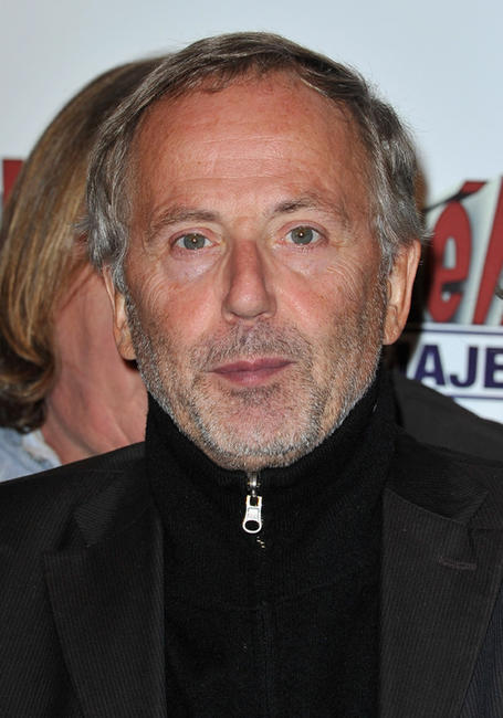 Fabrice Luchini at the Paris premiere of