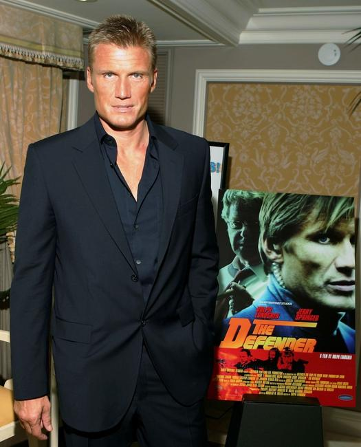 Dolph Lundgren at the Video Software Dealers Association's Annual home video convention.