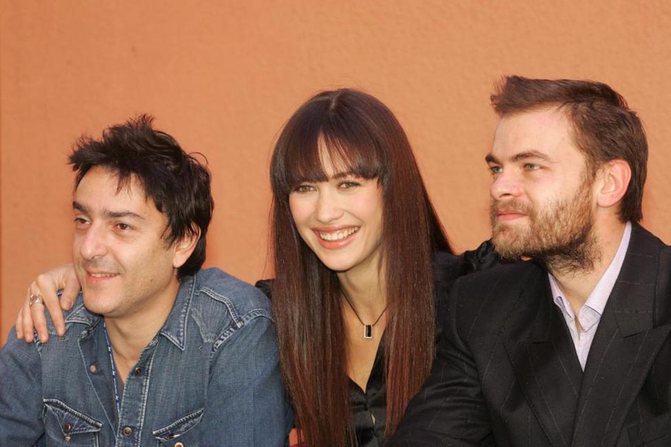 Yvan Attal, Olga Kurylenko and Clovis Cornillac at the photocall of