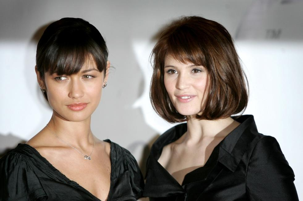 Olga Kurylenko and Gemma Arterton at the photocall of