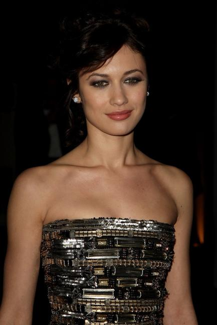 Olga Kurylenko at the after party of the Royal world premiere of