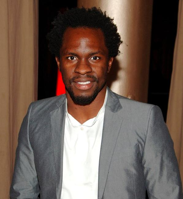 Gbenga Akinnagbe at the after party of the premiere of