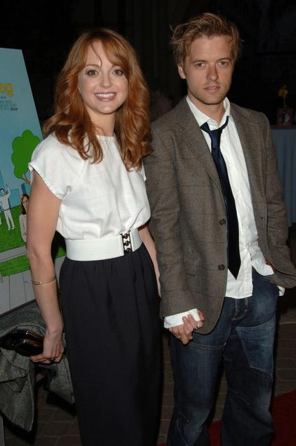 Jayma Mays at the premiere of