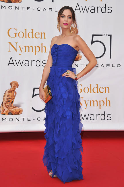 Kathleen Munroe at the Closing Ceremony of 51st Monte Carlo TV Festival in Monaco.