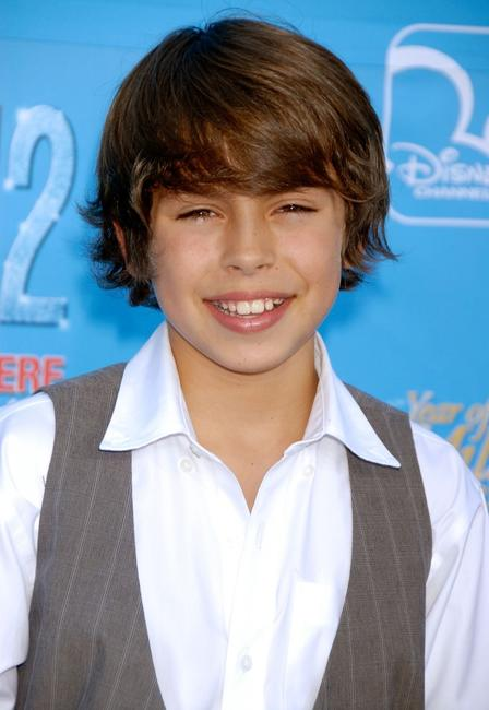 Jake T. Austin at the world premiere of