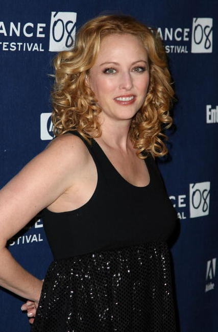 Virginia Madsen at the premiere of
