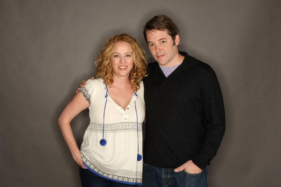 Virginia Madsen and Matthew Broderick at the 2008 Sundance Film Festival.