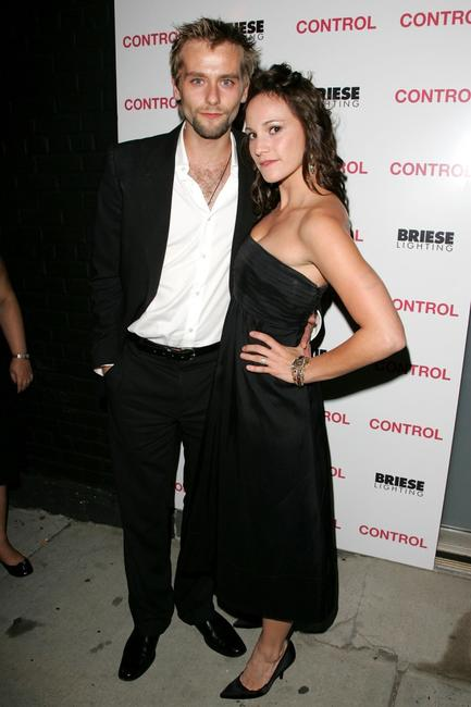 Joe Anderson and Nicole Berger at the after party of the premiere of