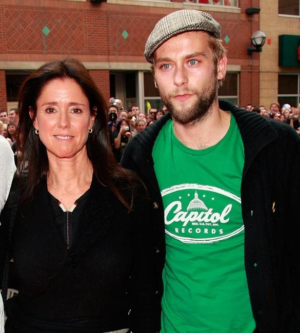 Director Julie Taymor and Joe Anderson at the North American premiere screening of