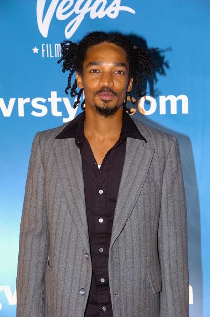Eddie Steeples at the Vegas Magazine 2nd Anniversary Party.