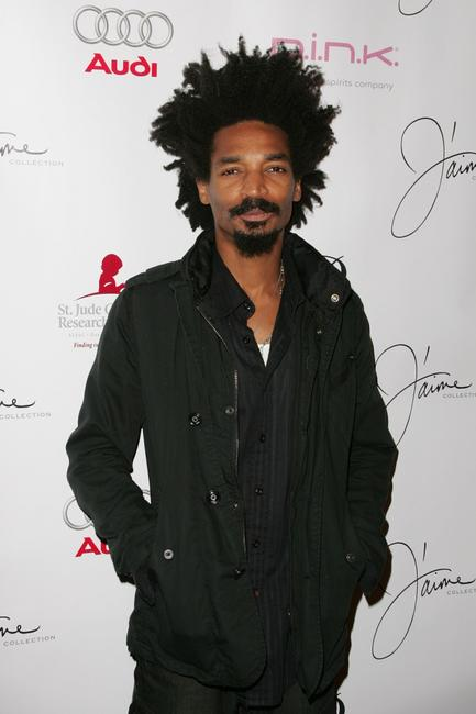 Eddie Steeples at the debut of Jaime Pressly's Spring/Summer 2008 J'aime Collection.
