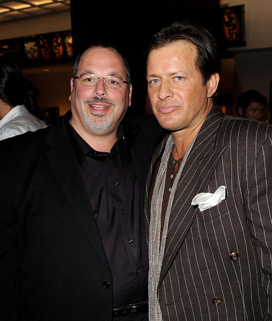 Executive producer Peter Block and Costas Mandylor at the screening of
