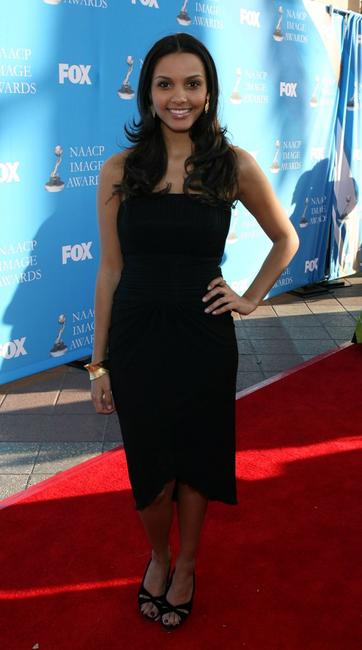 Jessica Lucas at the 39th NAACP Image Awards.