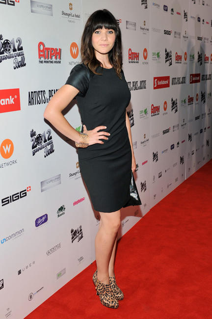 Amy Matysio at the Rising Stars: 2012 Producers Ball during the 2012 Toronto International Film Festival.