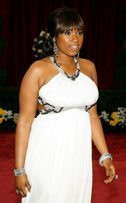 Jennifer Hudson at the 80th Annual Academy Awards.