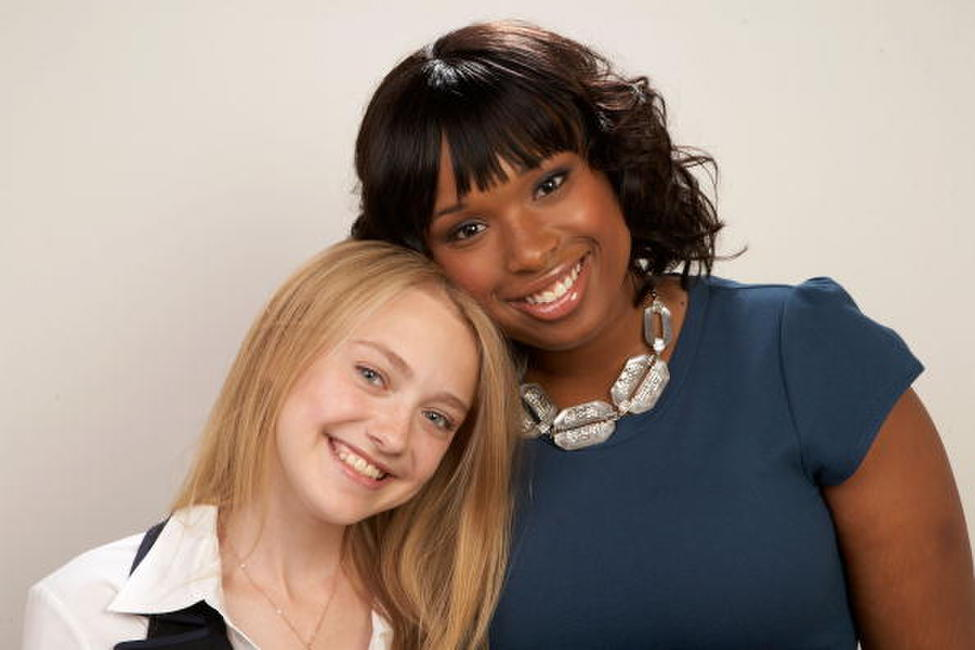 Dakota Fanning and Jennifer Hudson at the 2008 Toronto International Film Festival.