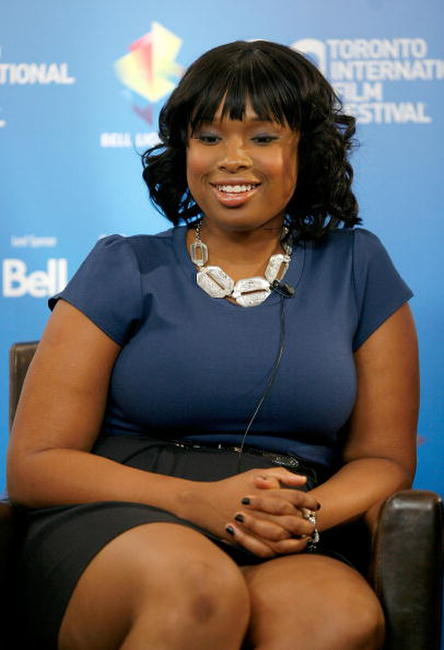 Jennifer Hudson at the 2008 Toronto International Film Festival.
