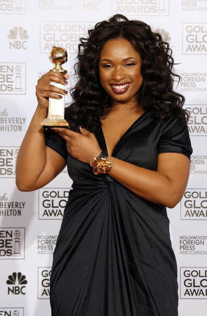 Jennifer Hudson at the The 64th Annual Golden Globe Awards.