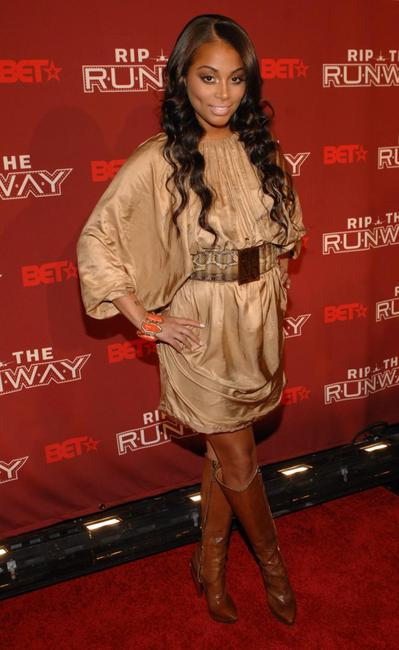 Lauren London at the BET's