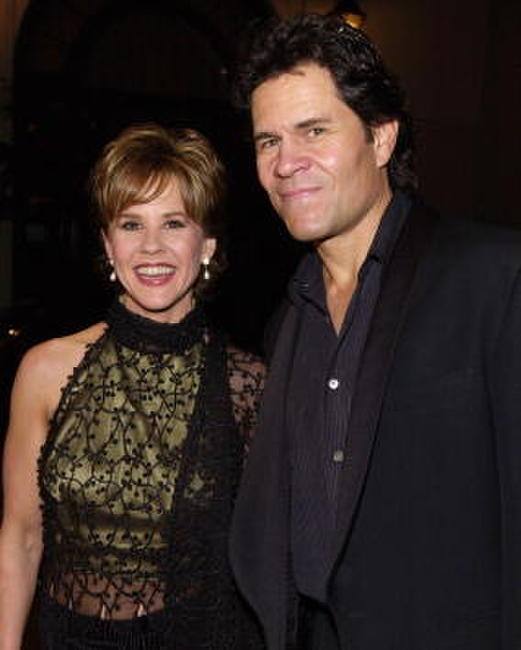 A. Martinez and Linda Blair at the Multicultural Motion Picture Association's