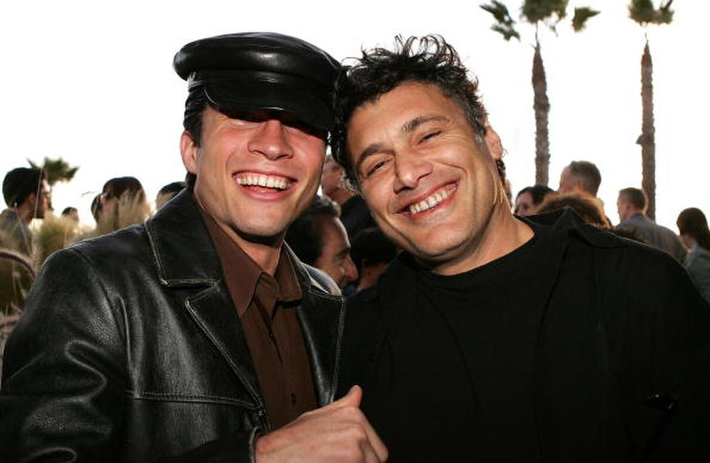 Marcus Shirock and Steven Bauer at the IFC's Independent Spirit Awards After Party.