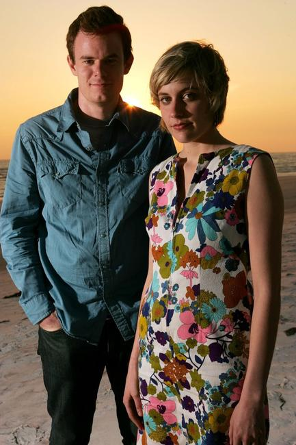 Joe Swanberg and Greta Gerwig at the 2007 Sarasota Film Festival.