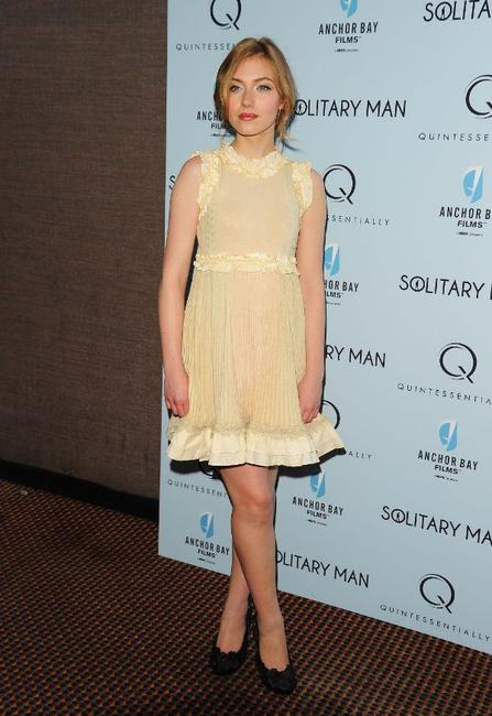 Imogen Poots at the New York premiere of