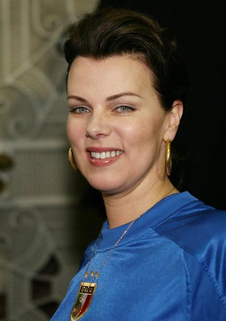 Debi Mazar at the reception to celebrate the films and performances of the L.A. Film Festival.