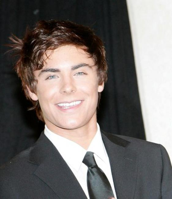 Zac Efron at the Paris photocall of