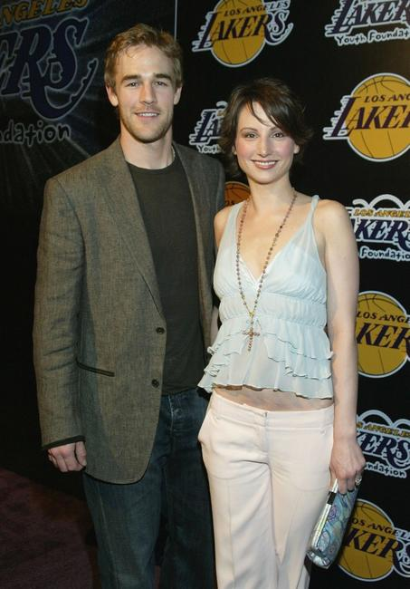James Van Der Beek and Heather McComb at the 1st Annual Palms Casino Royale to benefit the Los Angeles Lakers Youth Foundation.