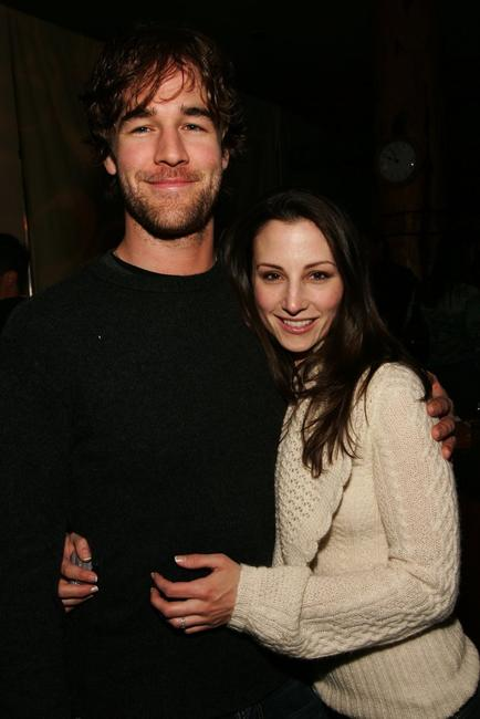James Van Der Beek and Heather McComb at the Gersh Agency Party during the Sundance Film Festival.