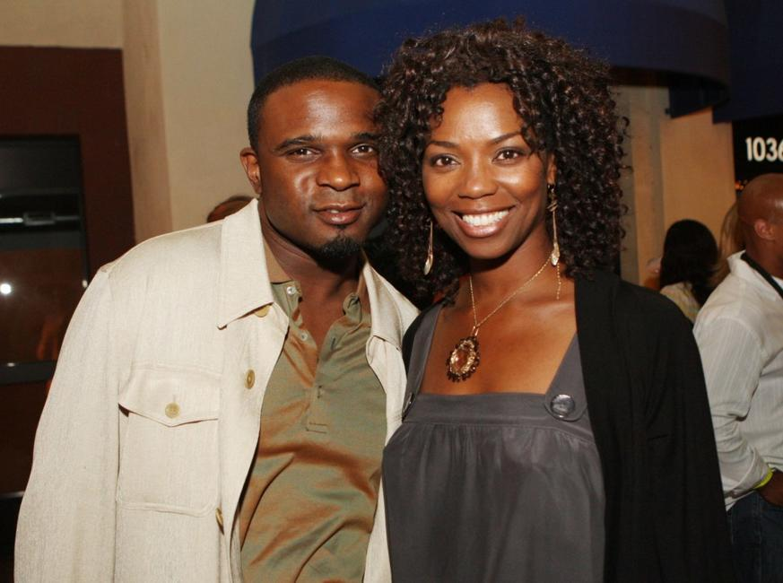 Darius McCrary and Vanessa Williams at the after party of the premiere of