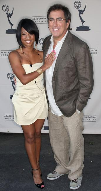 Monique Coleman and Kenny Ortega at the