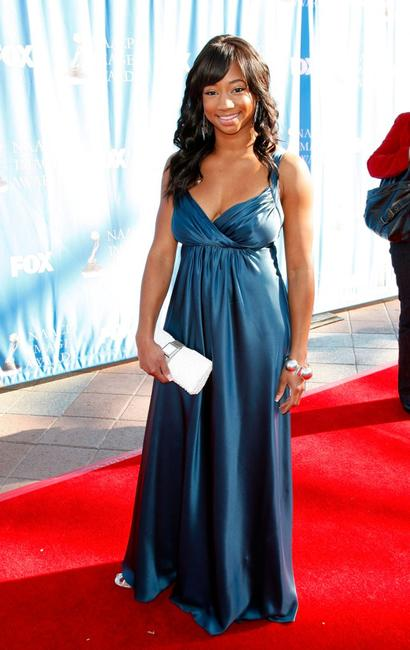 Monique Coleman at the 39th NAACP Image Awards.