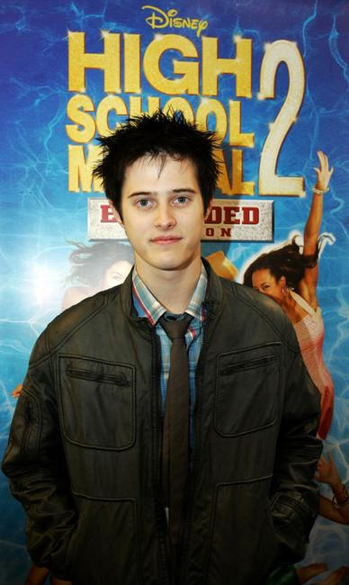 Lucas Grabeel at the promotional tour of
